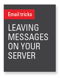 Leave messages on your server