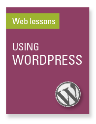 Using WordPress